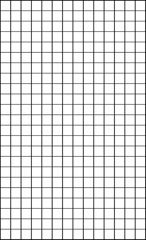 Artificial Grass Measuring Grid